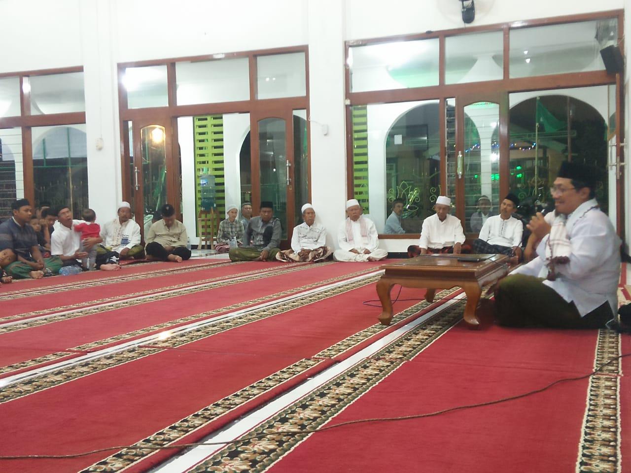 Tangkal Ideologi Radikal di Akar Rumput, Lakpesdam Kecamatan Banyuwangi Gelar Kajian Aswaja Bulanan