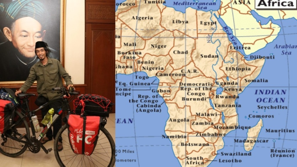 Hakam Mabruri, Warga NU yang Akan Keliling Afrika dengan Sepeda