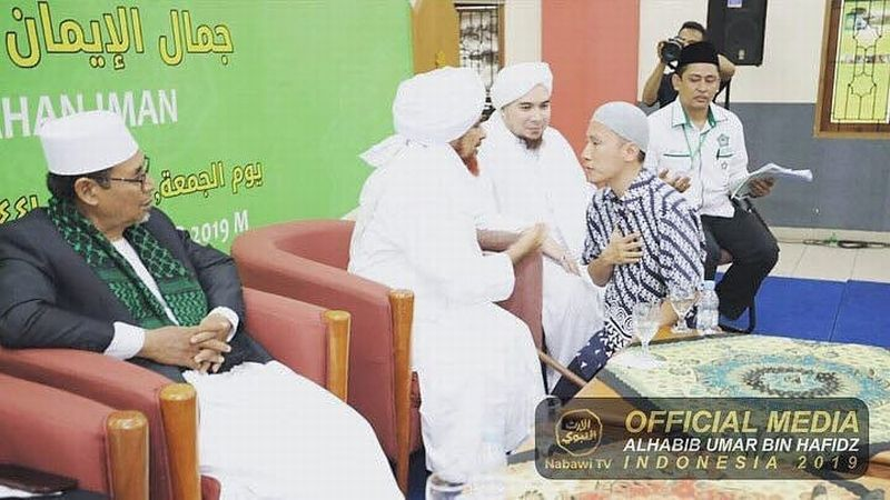 Bertemu Habib Umar, Felix Berhenti Kampanyekan Khilafah?