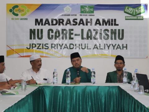 Wujudkan Profesionalisme Pengelolaan Zakat, PP NU Care-LAZISNU Dampingi JPZIS lewat Madrasah Amil